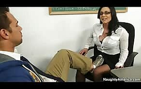 unconforming porno tube Naughty teacher Kendra Lust gets seduced and fucked by gleam