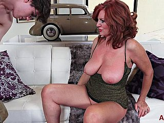 Mature -andi James (53) Well done Brunet